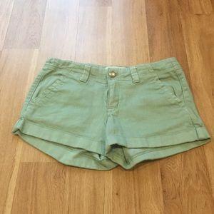 Forever 21 mint short pants size 26